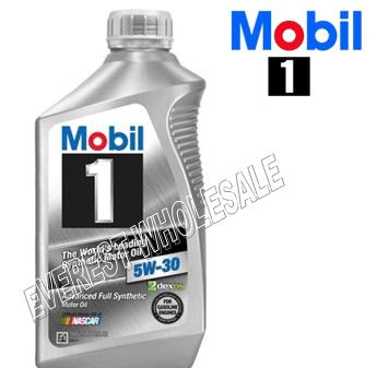 Mobil 1 Full Synthetic Motor Oil 1 Qt * 5W-30 * 6 pcs